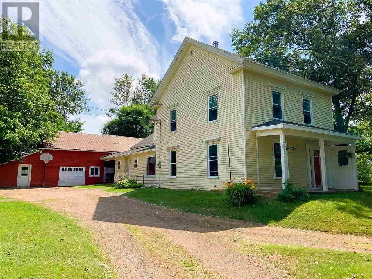 House for sale at 6242 Brooklyn St Woodville Nova Scotia - MLS: 201918765
