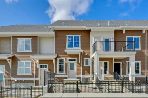 Townhouse for sale at 627 Cranbrook Walk/walkway Southeast Calgary Alberta - MLS: C4262374