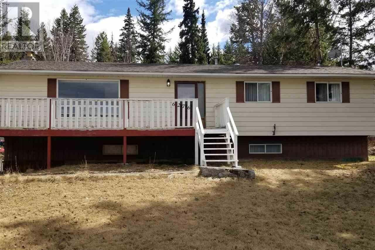 House for sale at 6276 Mulligan Dr Horse Lake British Columbia - MLS: R2450656