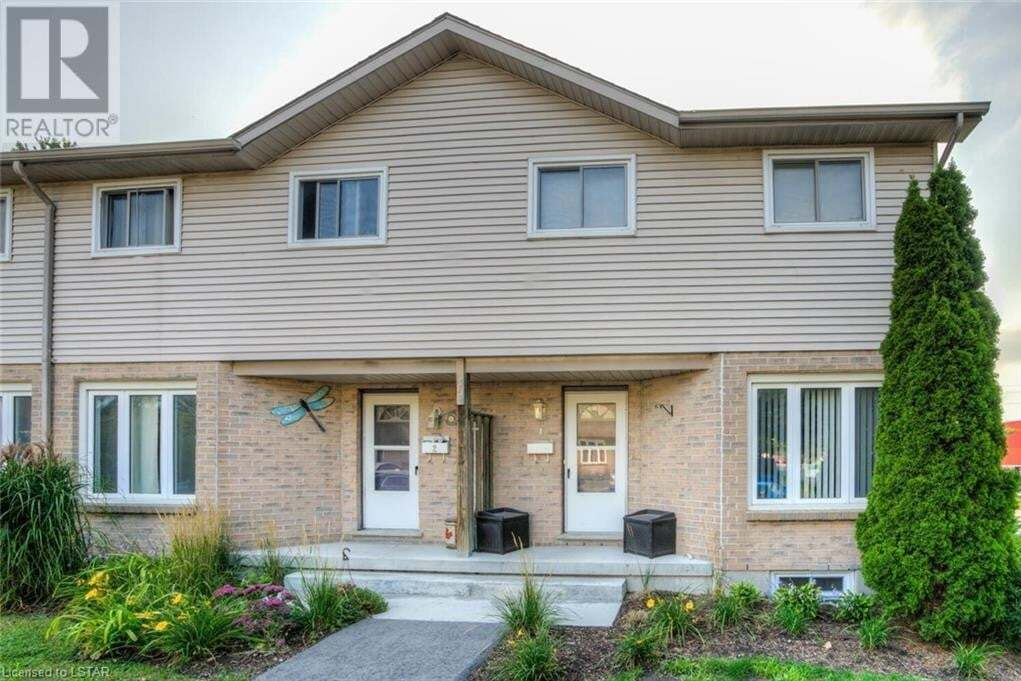 Townhouse for sale at 628 Wharncliffe Rd South London Ontario - MLS: 40021232