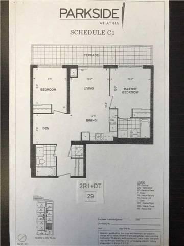Condo for sale at 55 Ann O'reilly Rd Unit 629 Toronto Ontario - MLS: C4512302