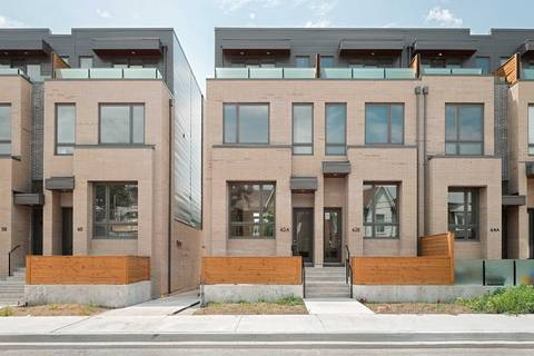 Townhouse for rent at 62 Perth Ave Toronto Ontario - MLS: C4574876