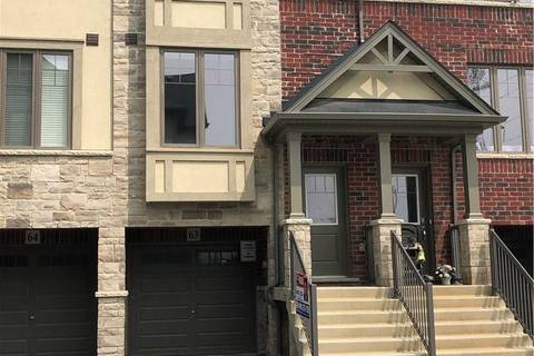 Townhouse for sale at 1169 Garner Rd E Unit 63 Ancaster Ontario - MLS: H4048237
