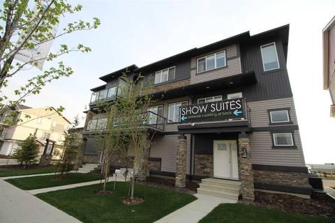 Townhouse for sale at 1530 Tamarack Blvd Nw Unit 63 Edmonton Alberta - MLS: E4149065