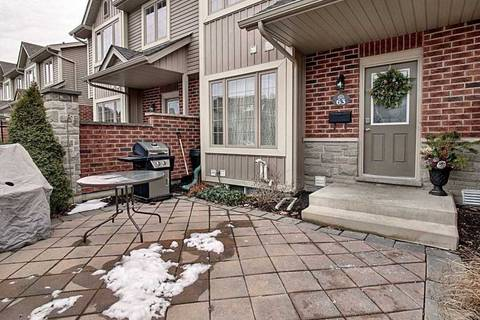 Condo for sale at 2145 North Routledge Pk Unit 63 London Ontario - MLS: X4684448