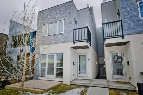 Townhouse for sale at 63 30 Ave Southwest Calgary Alberta - MLS: C4236414