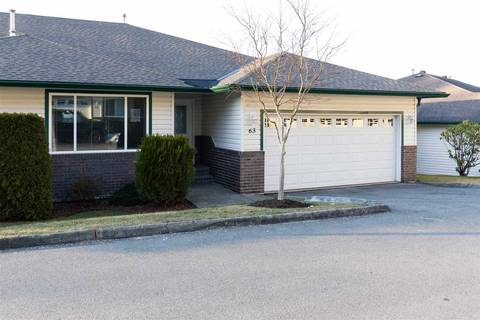 Townhouse for sale at 34250 Hazelwood Ave Unit 63 Abbotsford British Columbia - MLS: R2346864