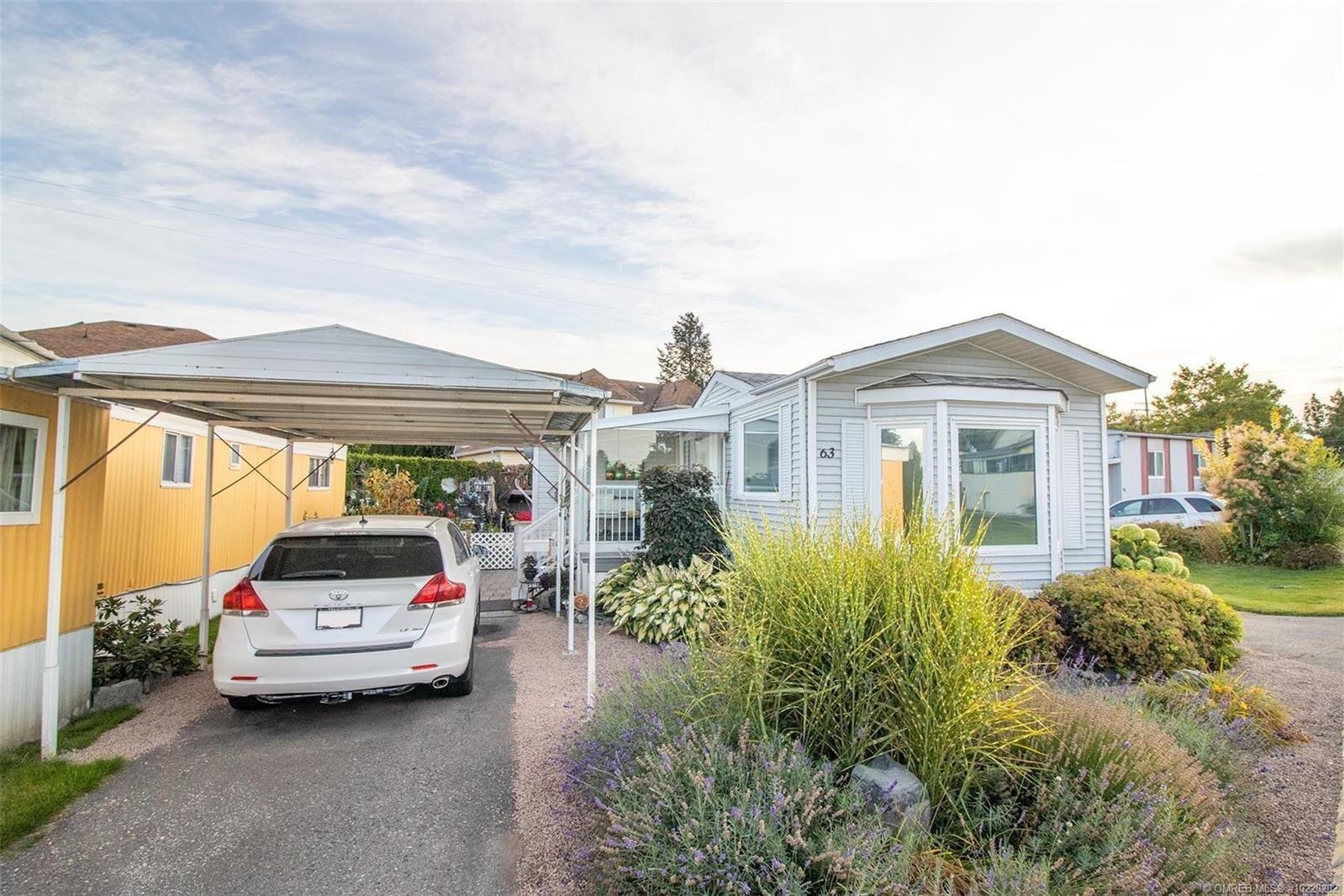 Home for sale at 3745 Lakeshore Rd Unit 63 Kelowna British Columbia - MLS: 10220202
