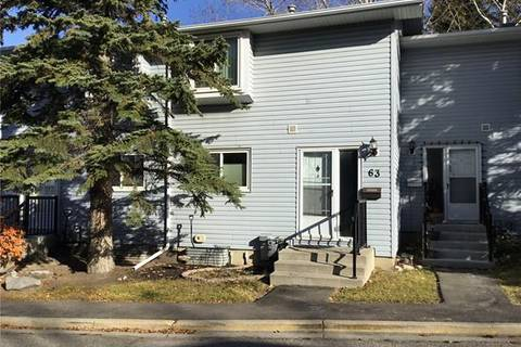 Townhouse for sale at 4810 40 Ave Southwest Unit 63 Calgary Alberta - MLS: C4273361