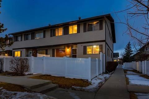 Townhouse for sale at 740 Bracewood Dr Southwest Unit 63 Calgary Alberta - MLS: C4291160