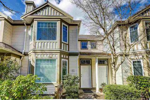 Townhouse for sale at 7500 Cumberland St Unit 63 Burnaby British Columbia - MLS: R2351273