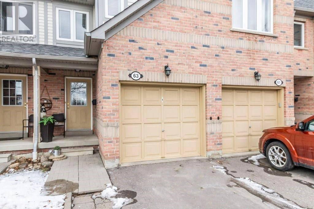Townhouse for sale at 86 Joymar Dr Unit 63 Peel Ontario - MLS: 30792332