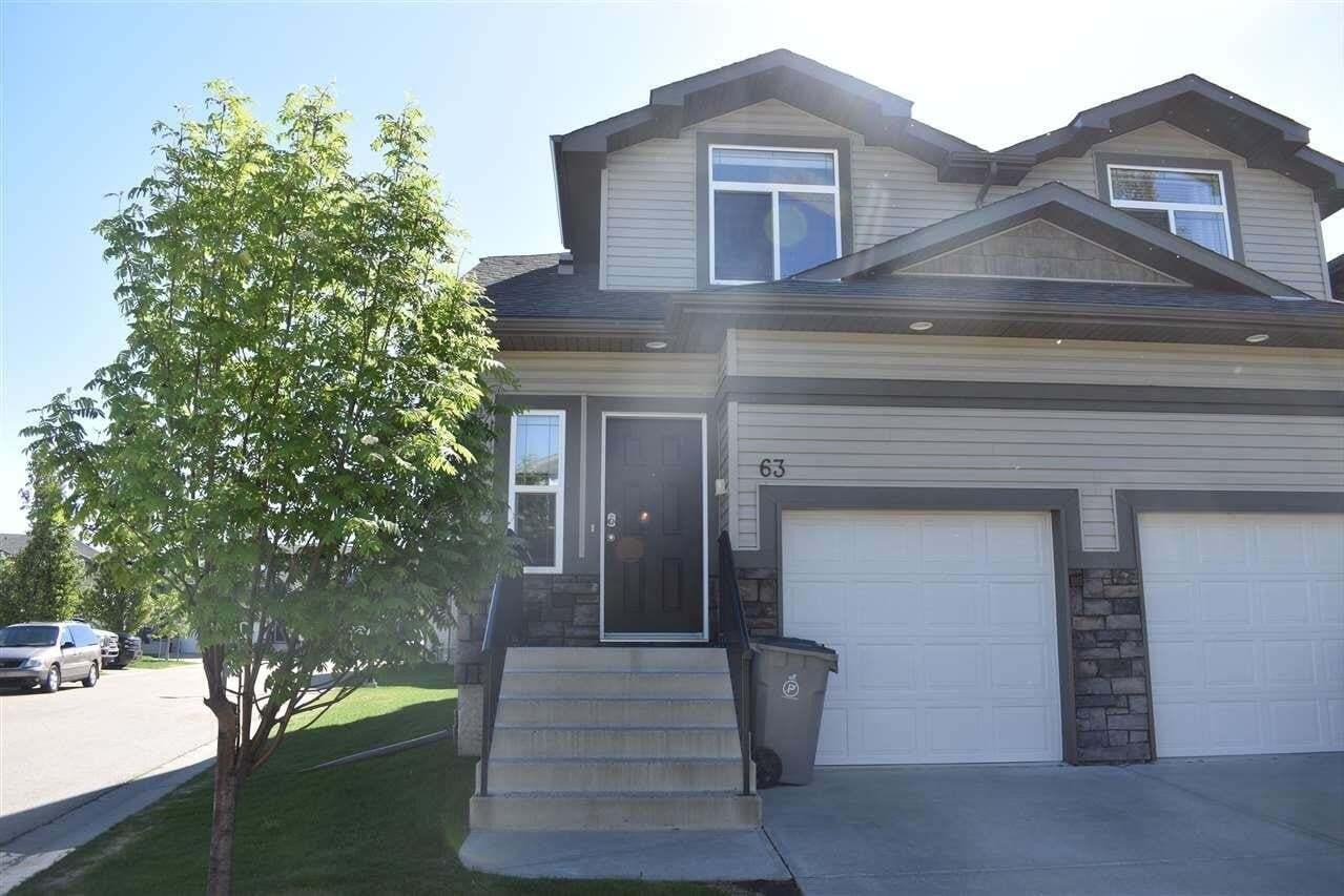 Townhouse for sale at 9511 102 Av Unit 63 Morinville Alberta - MLS: E4199986