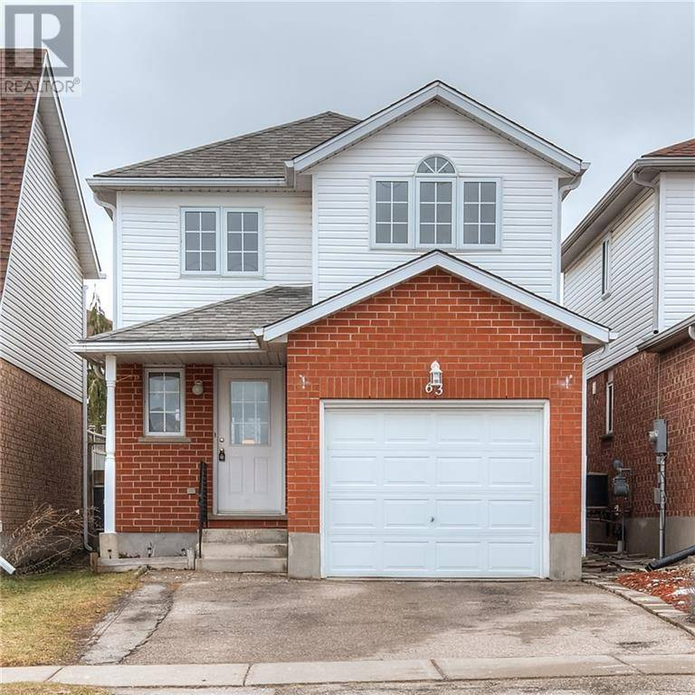 House for sale at 63 Activa Ave Kitchener Ontario - MLS: 30784085