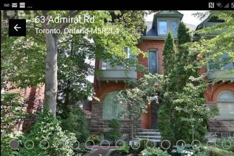 Townhouse for rent at 63 Admiral Rd Toronto Ontario - MLS: C4771520