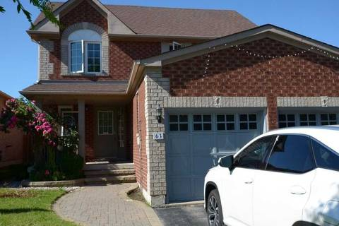 House for sale at 63 Brighton Rd Barrie Ontario - MLS: S4503142