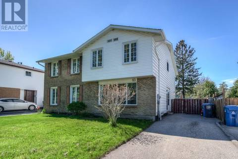 House for sale at 63 Burns Dr Guelph Ontario - MLS: 30736955
