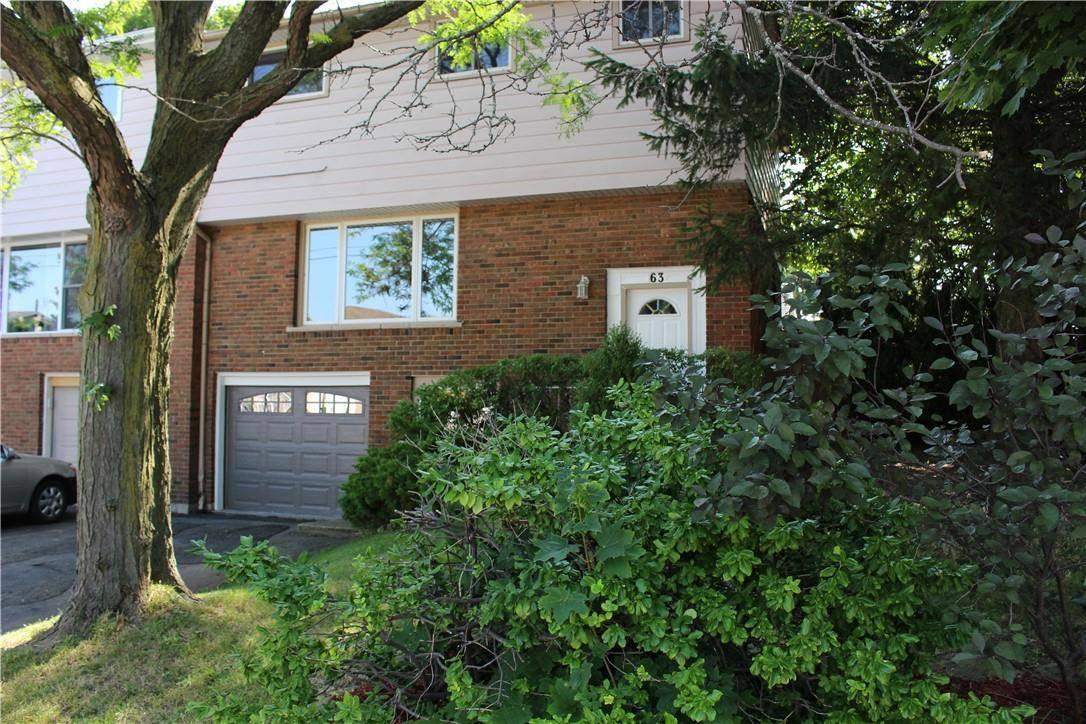 Townhouse for sale at 63 Caledon Ave Hamilton Ontario - MLS: H4070059