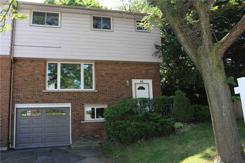 Townhouse for sale at 63 Caledon Ave Hamilton Ontario - MLS: X4539037