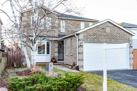 House for sale at 63 Carruthers Cres Barrie Ontario - MLS: S4622068