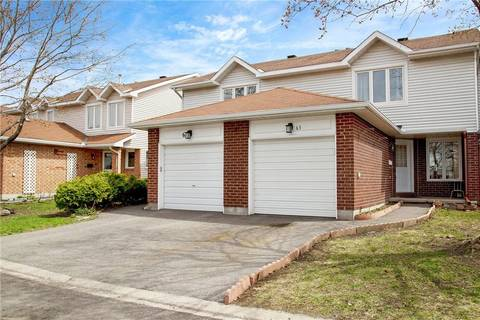 Townhouse for sale at 63 Clifford Pt Ottawa Ontario - MLS: 1150926