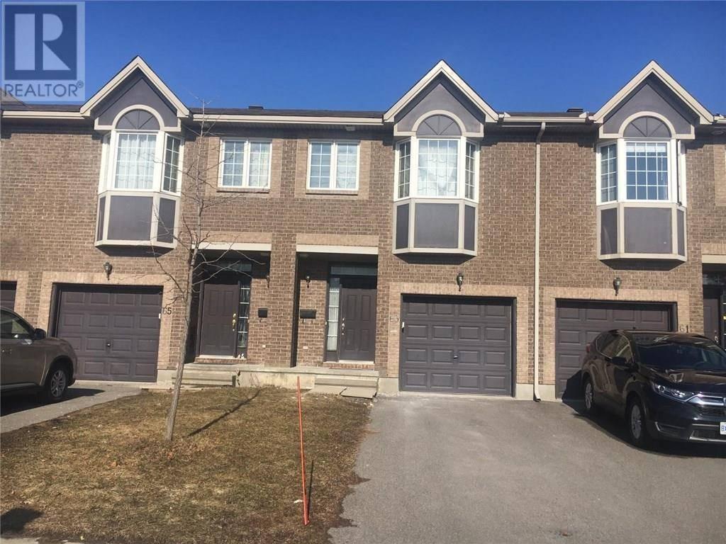 Townhouse for sale at 63 Colliston Cres Ottawa Ontario - MLS: 1187640
