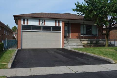 House for sale at 63 Corinthian Blvd Toronto Ontario - MLS: E4516170