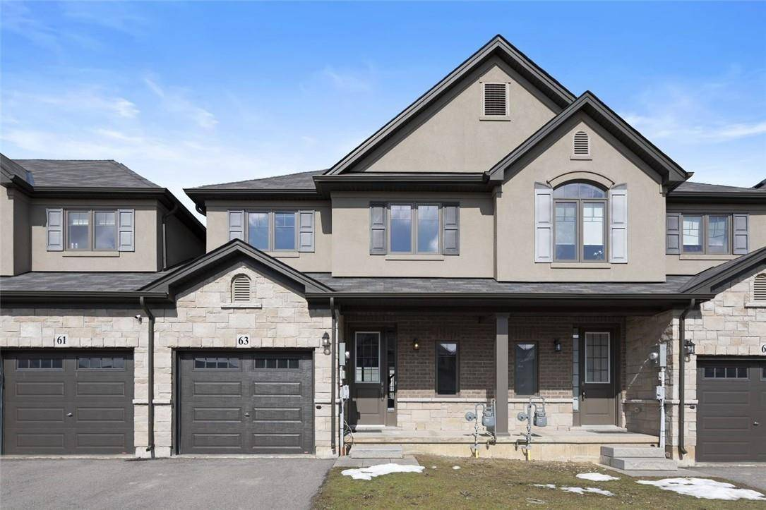 Townhouse for sale at 63 Dodman Cres Ancaster Ontario - MLS: H4075757