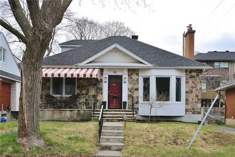 House for sale at 63 Glencairn Ave Ottawa Ontario - MLS: 1150986