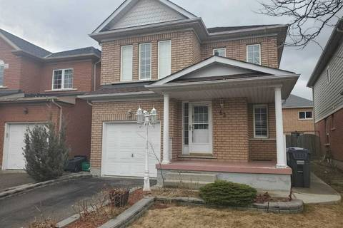 House for rent at 63 Heartleaf Cres Brampton Ontario - MLS: W4722522