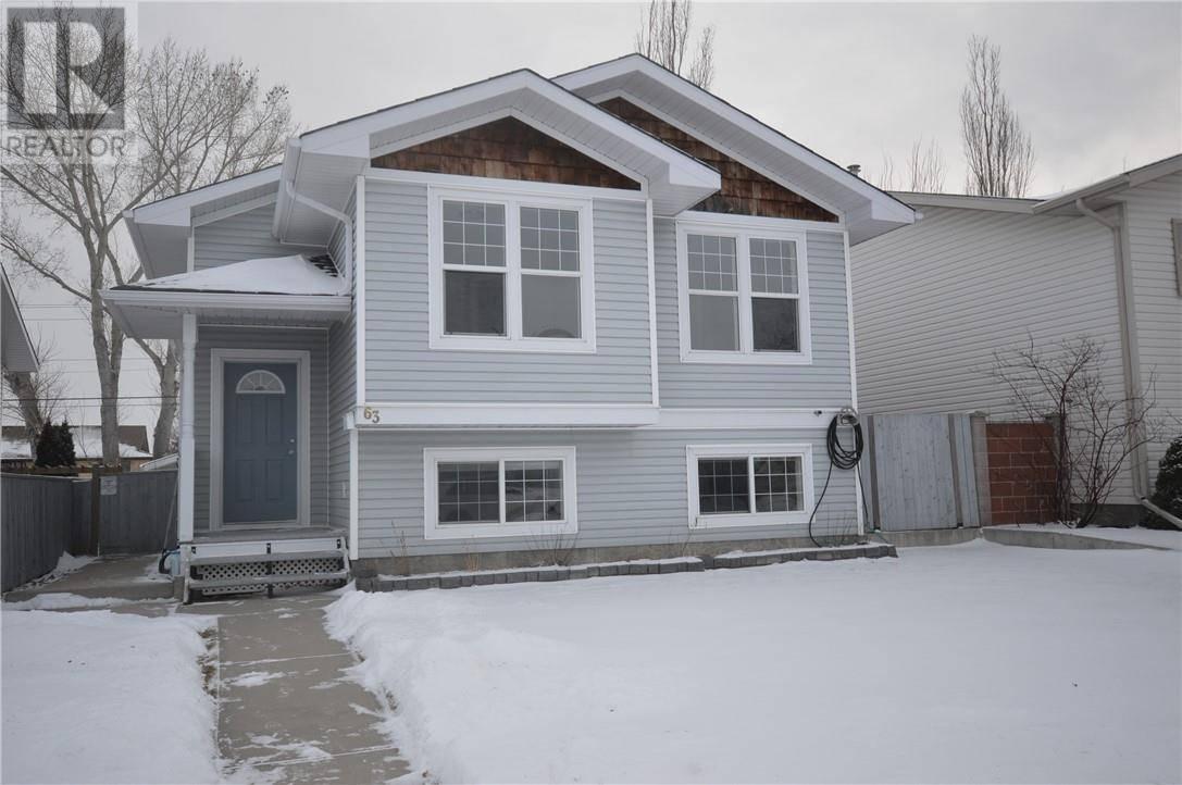 House for sale at 63 Henderson Ct Ne Medicine Hat Alberta - MLS: mh0185846