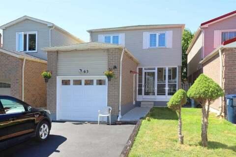 House for sale at 63 Horseshoe Cres Toronto Ontario - MLS: E4845167