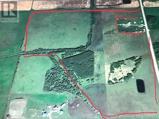 Residential property for sale at 0 Rge. Rd. 63  Unit 63 Grande Prairie, County Of Alberta - MLS: GP208319