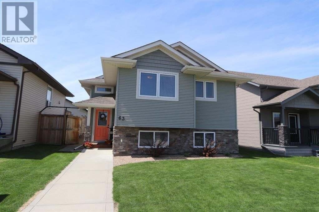 House for sale at 63 Ponderosa Ave Blackfalds Alberta - MLS: A1002461