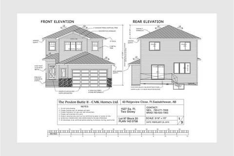 House for sale at 63 Ridgeview Cs Fort Saskatchewan Alberta - MLS: E4157249