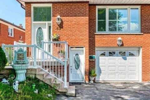 Townhouse for sale at 63 Starview Dr Toronto Ontario - MLS: W4817527