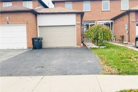 Townhouse for sale at 63 Tulip Dr Brampton Ontario - MLS: W4969057