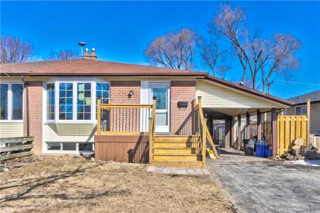 For Sale: 63 Tulloch Drive, Ajax, ON | 3 Bed, 2 Bath Townhouse for $548,800. See 20 photos!