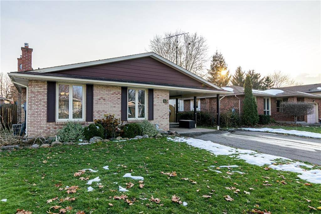 House for sale at 63 Whiteoak Cres Welland Ontario - MLS: 30782314