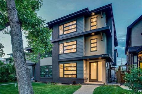 Townhouse for sale at 630 27 Ave Northwest Calgary Alberta - MLS: C4255800