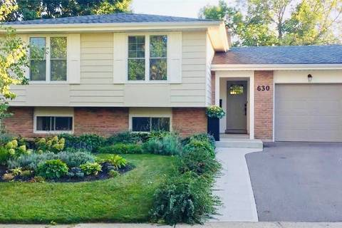 House for sale at 630 Oxford Rd Burlington Ontario - MLS: 30727841