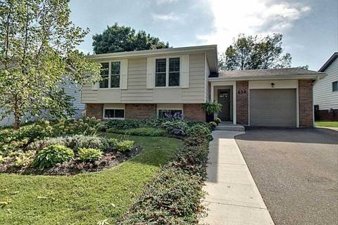 House for sale at 630 Oxford Rd Burlington Ontario - MLS: W4584740