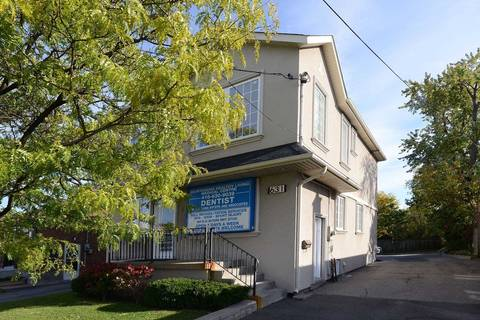 Commercial property for lease at 631 Sheppard Ave Toronto Ontario - MLS: C4612324