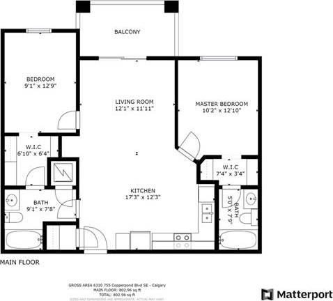 6310 - 755 Copperpond Boulevard Southeast, Calgary   Image 2