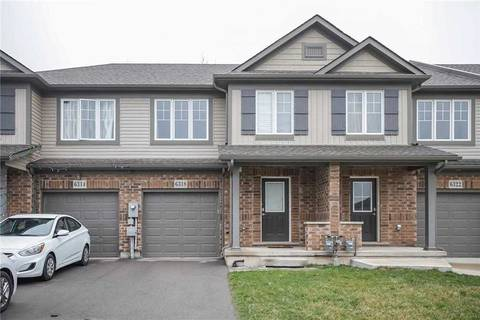 Townhouse for sale at 6318 Shapton Cres Niagara Falls Ontario - MLS: X4735906