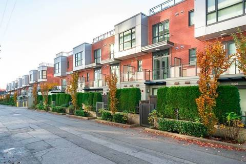 Townhouse for sale at 6340 Ash St Vancouver British Columbia - MLS: R2440716
