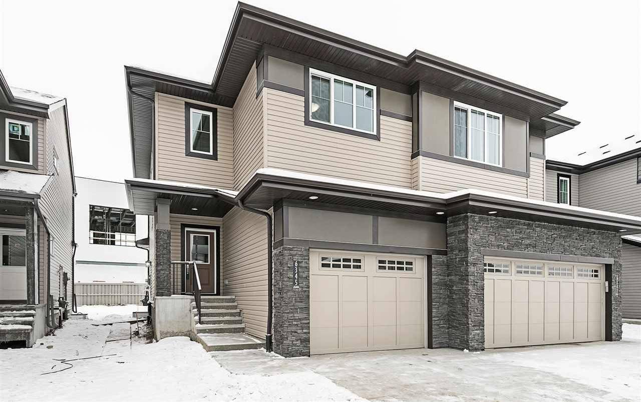 Townhouse for sale at 6345 Cartmell Rd Sw Edmonton Alberta - MLS: E4182830