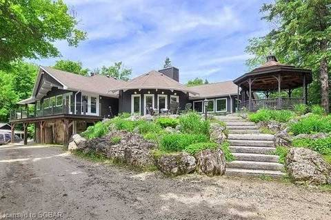 House for sale at 634674 Pretty River Rd Grey Highlands Ontario - MLS: X4446455