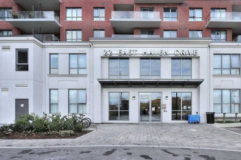 Apartment for rent at 22 East Haven Dr Unit 635 Toronto Ontario - MLS: E4657012