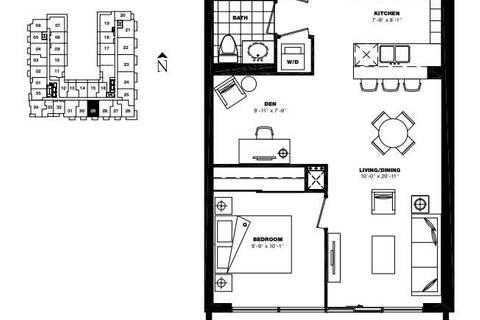 Apartment for rent at 3091 Dufferin St Unit 635 Toronto Ontario - MLS: W4687536